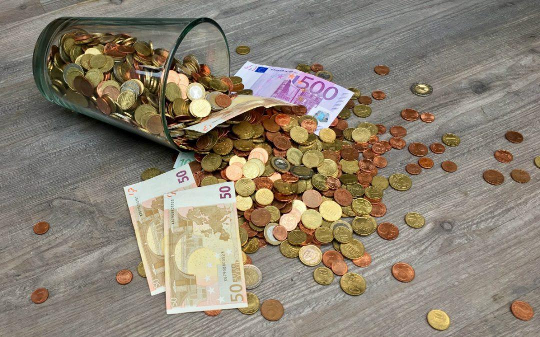 Rood staan op je energiebalans.. geld lenen kost geld!